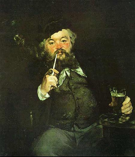 Эдуард Мане. За кружкой пива